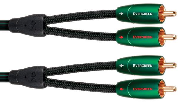 Фото № 1 AudioQuest Evergreen RCA (0,6-20m) - цены, наличие, отзывы в интернет-магазине