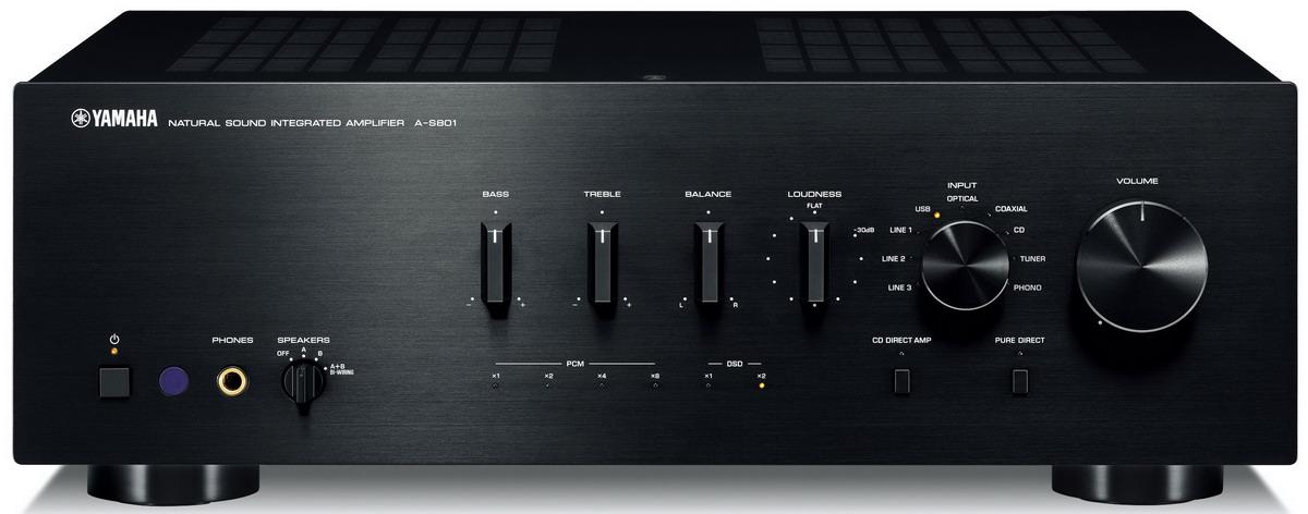Фото № 1 Yamaha A-S801 - цены, наличие, отзывы в интернет-магазине