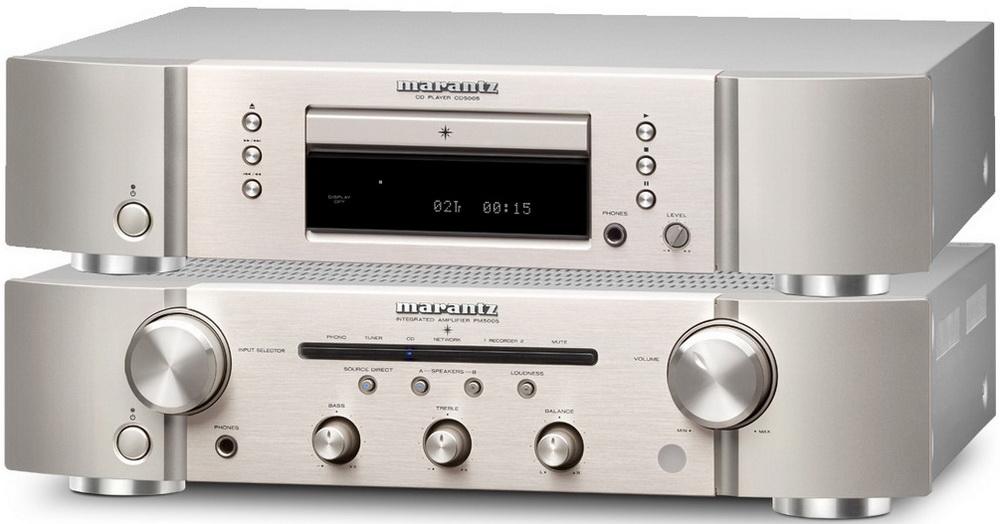 Фото № 1 Marantz CD 5005 + PM 5005 - цены, наличие, отзывы в интернет-магазине