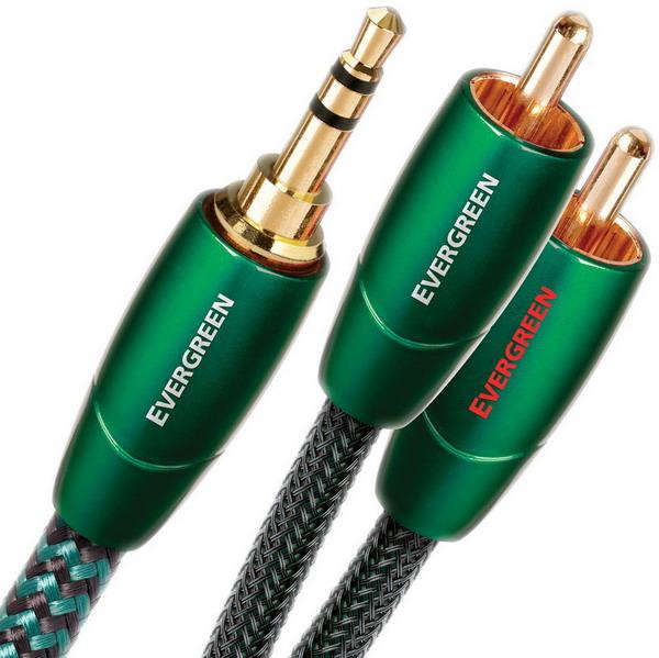 Фото № 1 AudioQuest Evergreen 3.5mm-2RCA (0,6-20m) - цены, наличие, отзывы в интернет-магазине